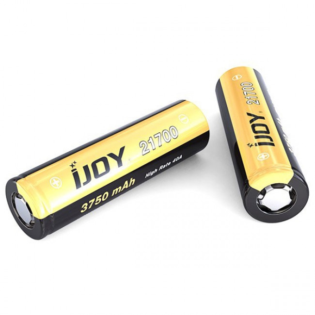 IJOY 3750MAH 21700 HIGH DRAIN RECHARGABLE BATTERY