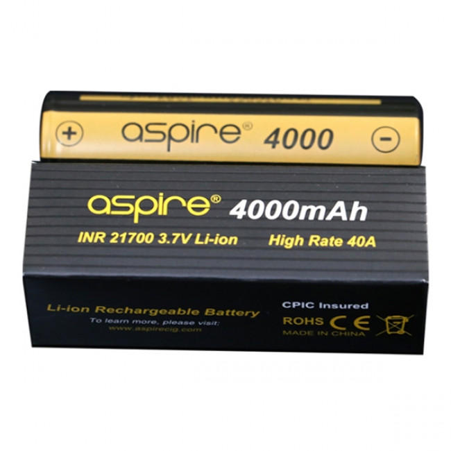 ASPIRE 21700 4000MAH BATTERI