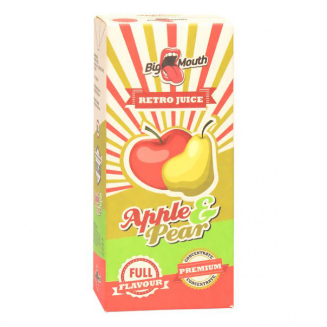 BIG MOUTH RETRO JUICE APPLE & PEAR