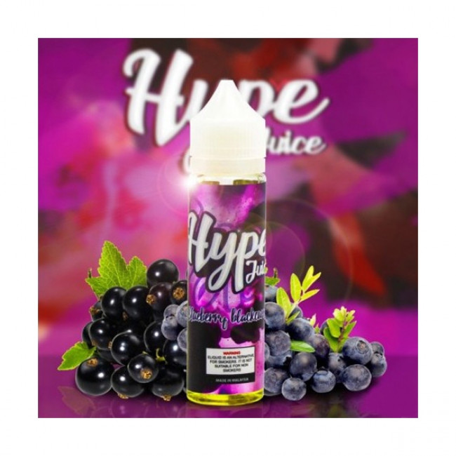 HYPE JUICE BLUEBERRY BLACKCURRANT