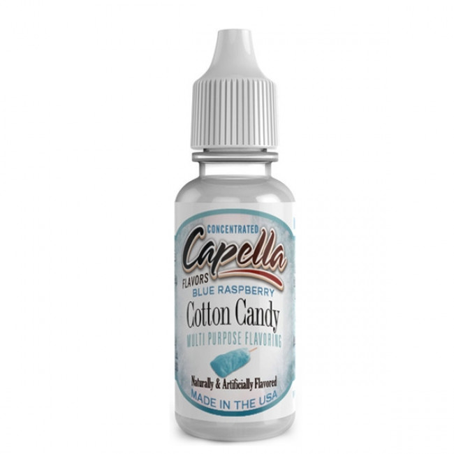 CAPELLA BLUE RASPBERRY COTTON CANDY AROMA