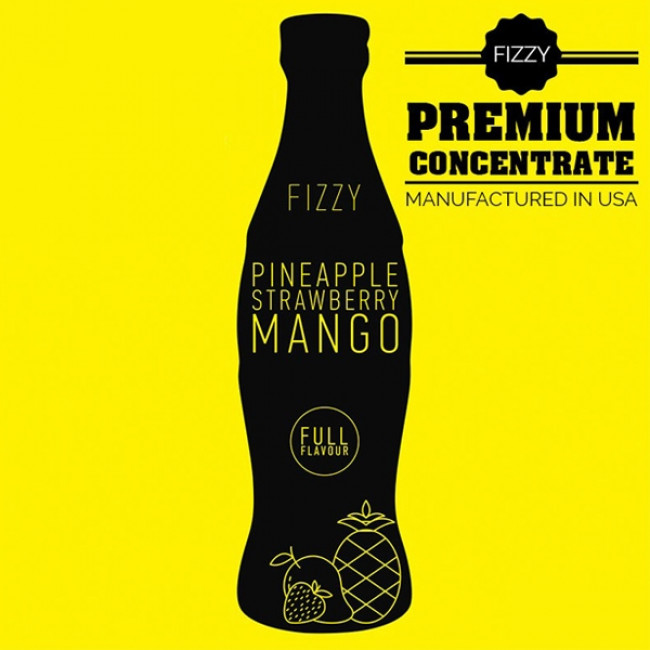 BIG MOUTH FIZZY PINEAPPLE/STRAWBERRY/MANGO AROMA