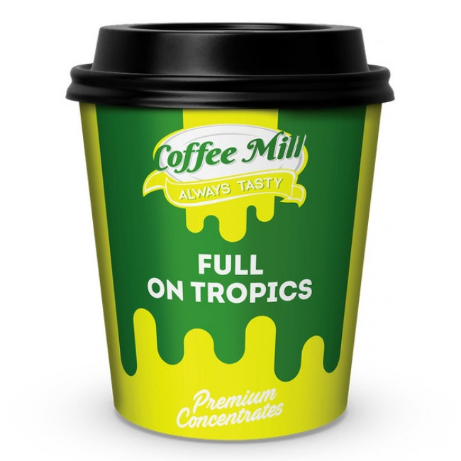 COFFEE MILL FULL ON TROPICS