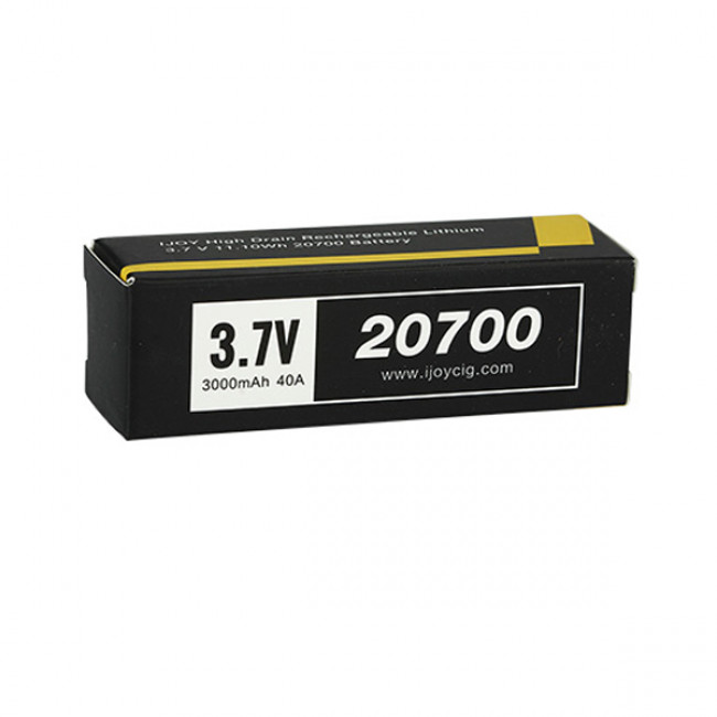 IJOY 20700 HIGH DRAIN RECHARGEABLE BATTERY - 40A