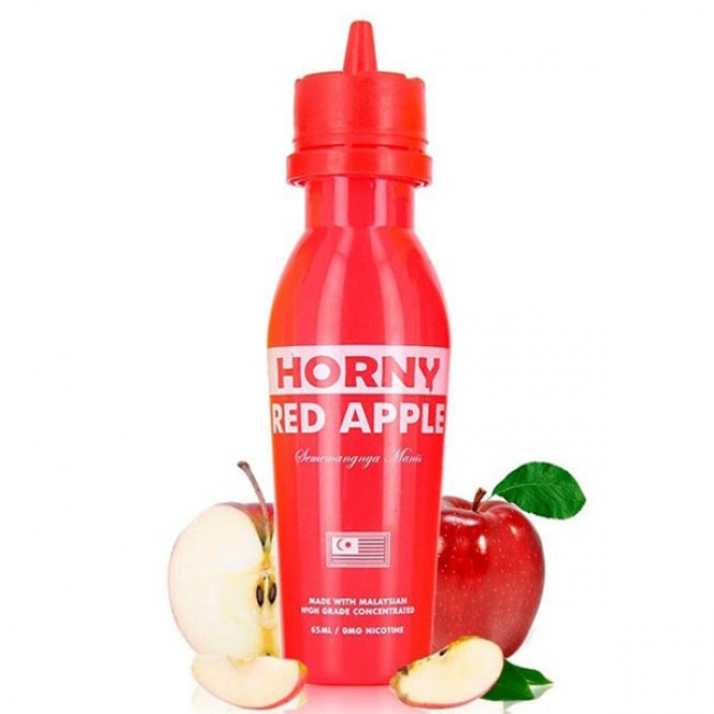 HORNY FLAVA RED APPLE E JUICE