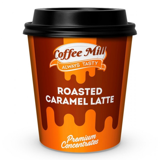 COFFEE MILL ROASTED CARAMEL LATTE