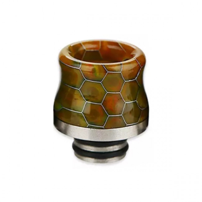 SNAKESKIN RESIN DRIP TIP FOR 510