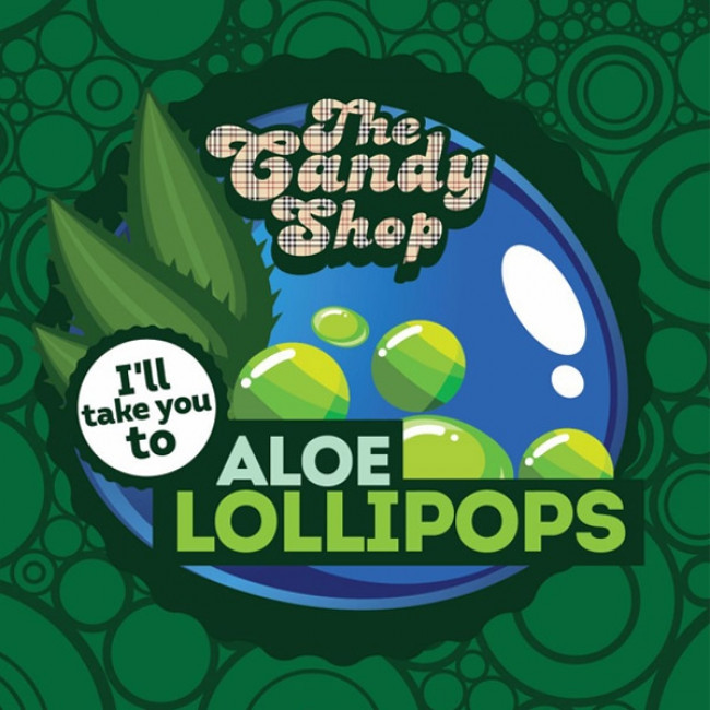 BIG MOUTH CANDY SHOP ALOE LOLLIPOPS AROMA