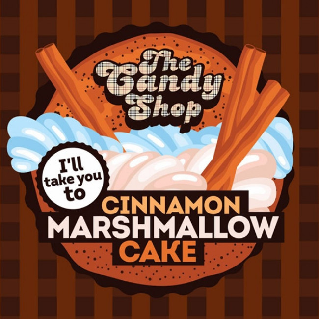 BIG MOUTH CANDY SHOP CINNAMON MARSHMALLOW CAKE AROMA