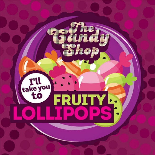 BIG MOUTH CANDY SHOP FRUITY LOLLIPOPS AROMA