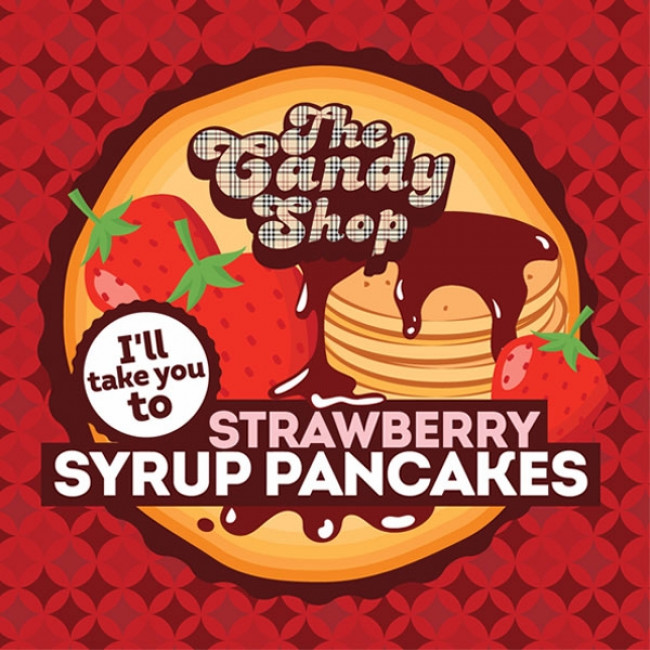 BIG MOUTH CANDY SHOP STRAWBERRY SYRUP PANCAKES AROMA