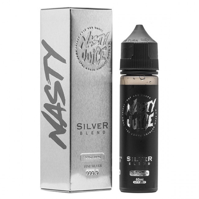NASTY JUICE TOBACCO - SILVER BLEND