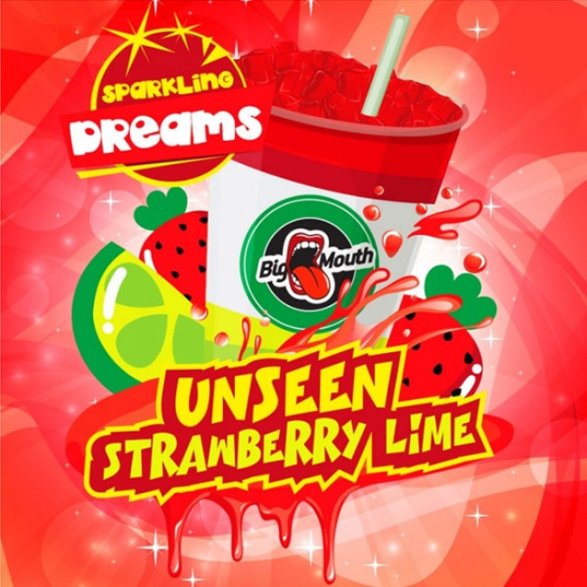 BIG MOUTH UNSEEN STRAWBERRY LIME