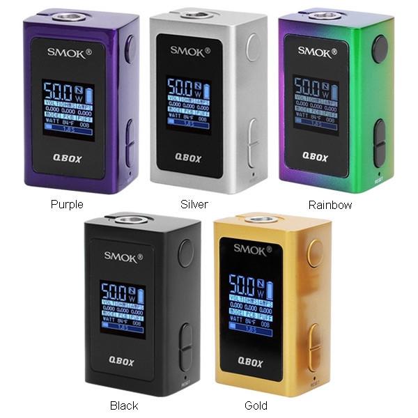 SMOK 1600MAH QBOX TC BOX MOD