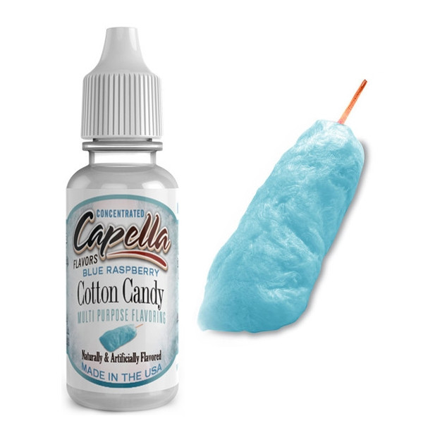 CAPELLA BLUE RASPBERRY COTTON CANDY AROMA