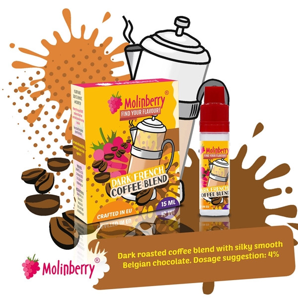 MOLINBERRY DARK FRENCH COFFEE BLEND AROMA