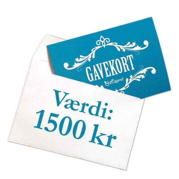Din eCigaret gavekort 1500 kr