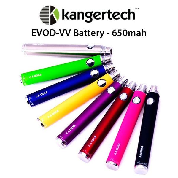 KANGERTECH EVOD-VV 650 MAH BATTERI