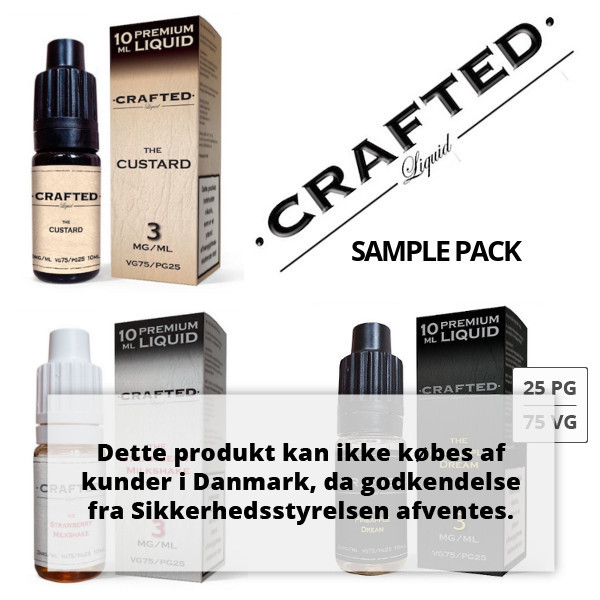 CRAFTED SAMPLE PACK