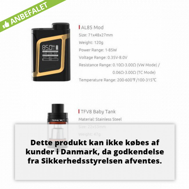 SMOK Alien BABY AL85 TC KIT