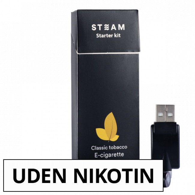 STEAM SINGLE STARTPAKKE
