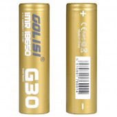 GOLISI G30 IMR 2STK 18650 25A 3000MAH