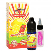 BIG MOUTH RETRO JUICE STRAWBERRY AND LEMON AROMA