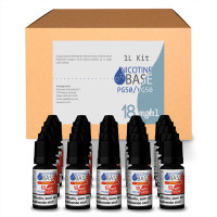 NICOTINE BASE BUDGET KIT PG50/VG50 - 18MG
