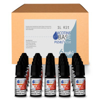 NICOTINE BASE BUDGET KIT PG50/VG50 - 6MG