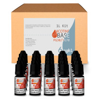 NICOTINE BASE BUDGET KIT PG30/VG70 - 6MG