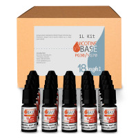 NICOTINE BASE BUDGET KIT PG30/VG70 - 18MG